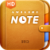Awesome Note HD (+To-do/Calendar/Reminder)