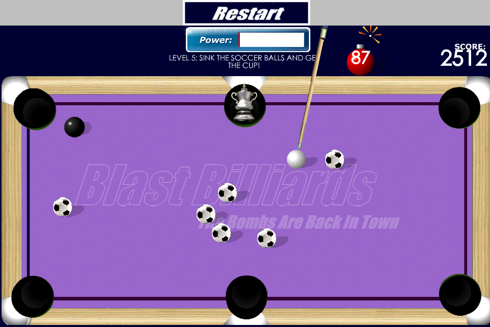 Screenshot B Billiards